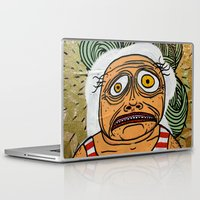 ed sheeran Laptop & iPad Skins featuring Ed by Patty Hogan
