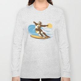 God Surfed Long Sleeve T-shirt