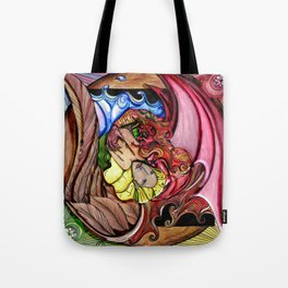 Dream Girl & Lucky Tote Bag