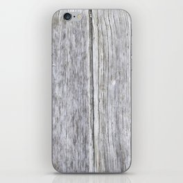 Old wood iPhone Skin