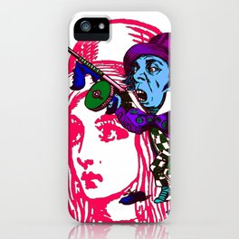 Alice&Hatter iPhone Case