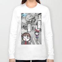 manga Long Sleeve T-shirts featuring Shoujo Manga  by I love Bubbah