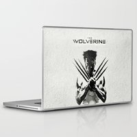 x men Laptop & iPad Skins featuring X-MEN by bimorecreative