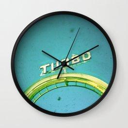 Turbo Wall Clock
