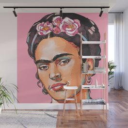 Frida Kahlo - Feminist Icon Wall Mural
