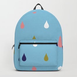 Happy rain drops Backpack