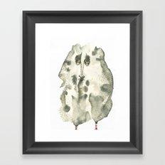 Saddie Framed Art Print