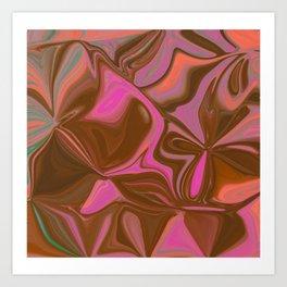 Raspberry Dreams  Art Print