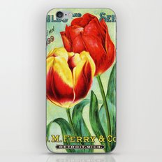 Antique Tulips iPhone & iPod Skin