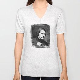 Nikolai Gogol Unisex V-Neck