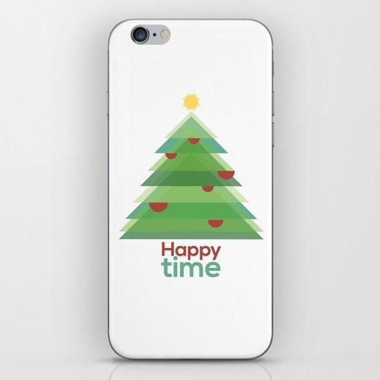 Happy time iPhone & iPod Skin