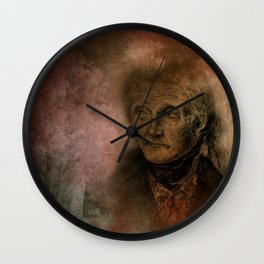when she looks back at her life - wall art only Wall Clock