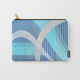 Resonance (blue-aqua) Carry-All Pouch