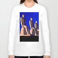 MAN AT SEA Long Sleeve T-shirt