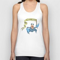cancer Tank Tops featuring Cancer by Dan Paul Roberts