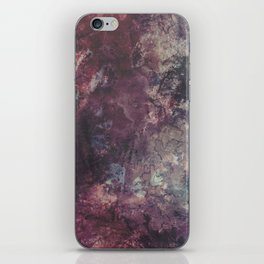 acrylic grunge iPhone Skin