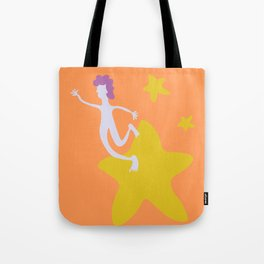 Reach for the Stars - Yellow Tote Bag