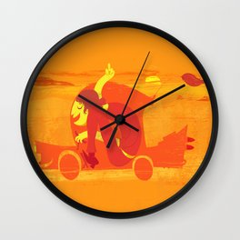 Gone! Wall Clock