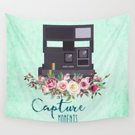 Capture moments #3 Wall Tapestry