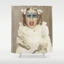 Baby Scream Shower Curtain