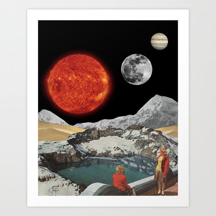 Cosmic Panorama Art Print