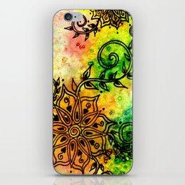 Henna Fantasia iPhone Skin