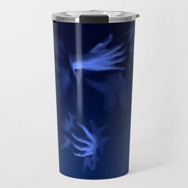 Coming Out Of The Blue Travel Mug
