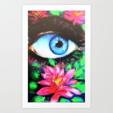 Title: 3rd Eye of Wisdom Art Print