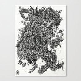 Flick My Beaniverse Canvas Print
