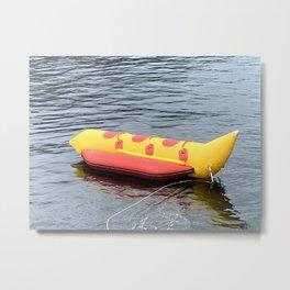 Banana Boat Metal Print
