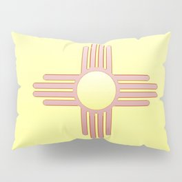 Flag of new mexico  -with color gradient Pillow Sham