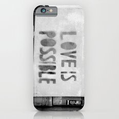Love is possible - Berlin stencil iPhone 6s Slim Case