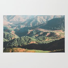 Layers of the Atlas Mountains, Africa Rug