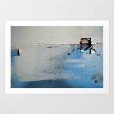 wallholes Art Print