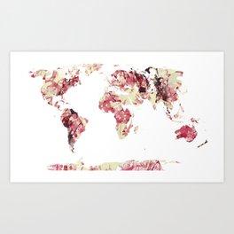 CHAOS WORLD Art Print
