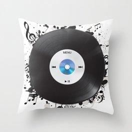 AnalogiTal Throw Pillow