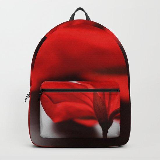 Scarlet Petals Backpack