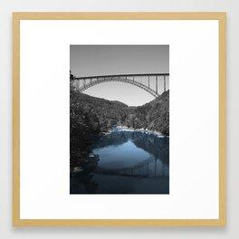 New River Teal? Framed Art Print