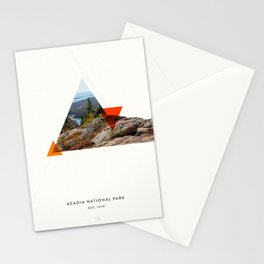 National Parks: Acadia Stationery Cards