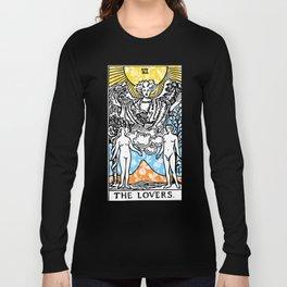 Floral Tarot Print - The Lovers Long Sleeve T-shirt