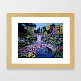 My Garden - by Ave Hurley Framed Art Print