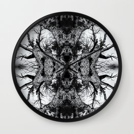 Gnarled Sleep of Forest Giant Wall Clock