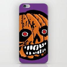 Jack-o-Lantern 2 iPhone & iPod Skin