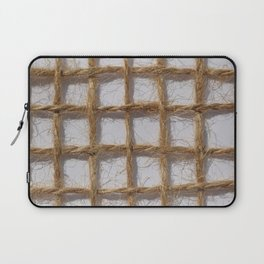 Weave the rope Laptop Sleeve