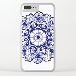 Chinese Lucky Pattern Clear iPhone Case