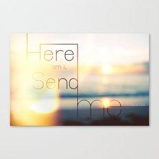 send ME Canvas Print