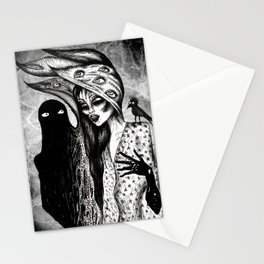 Dialogue With A Demon Stationery Cards