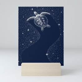 Starry Turtle Mini Art Print