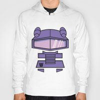 transformers Hoodies featuring Transformers - Shockwave by CaptainLaserBeam