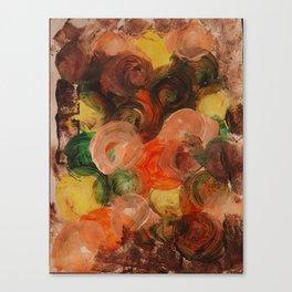 Earthly Circular Energy Canvas Print
